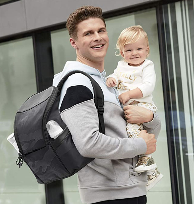 mochila carro bebé hombre