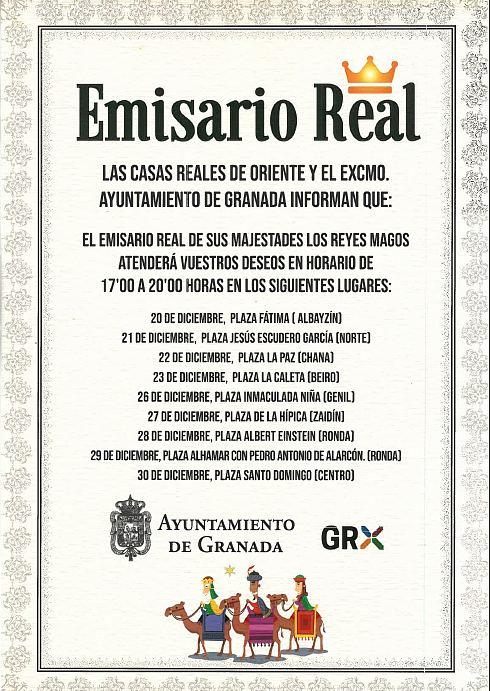 cartero real Granada