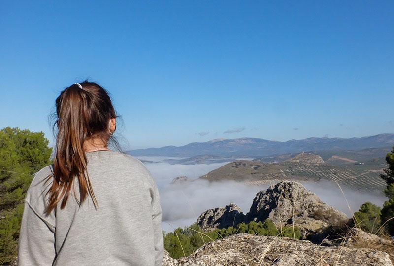 mar de nubes Moclín