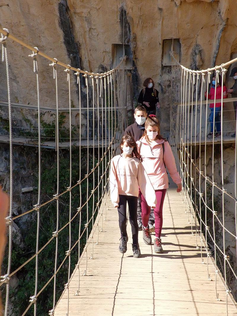 senderismo con niños Granada