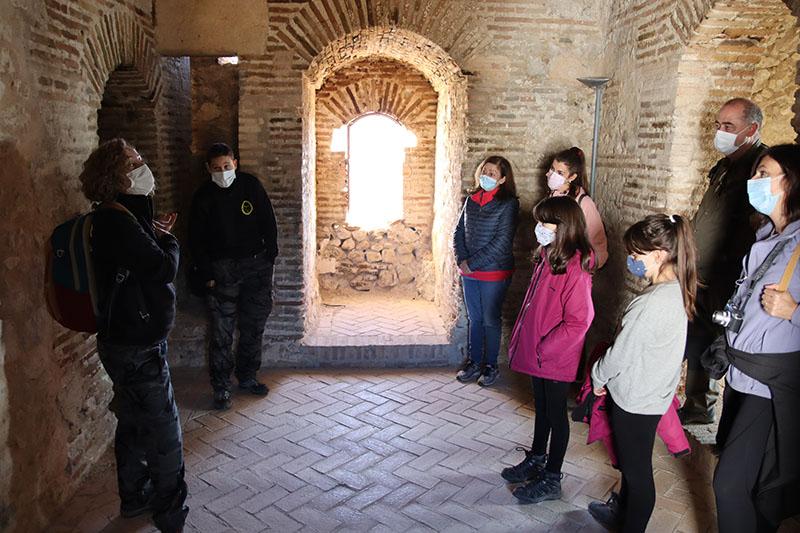 visita guiada castillo Moclín