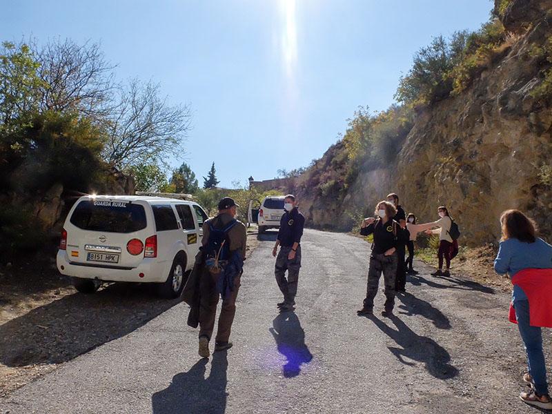 visita guiada Moclin ruta gollizno