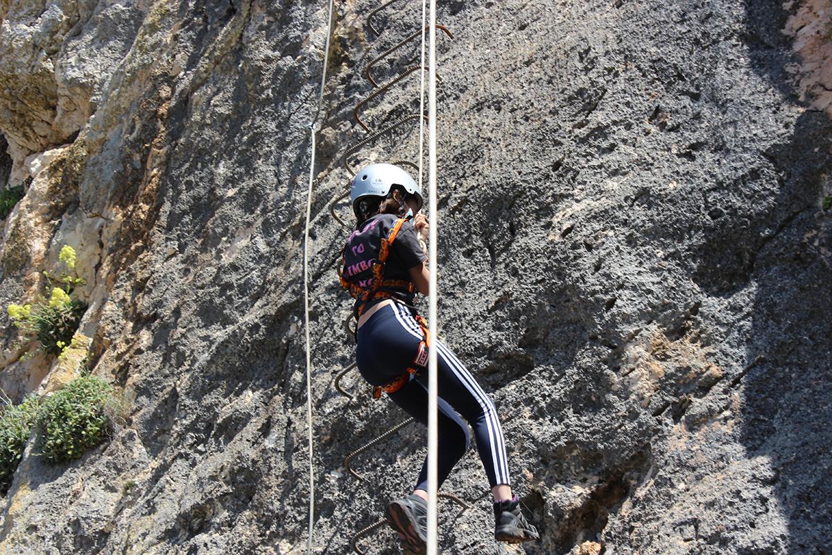escalada infantil Granada