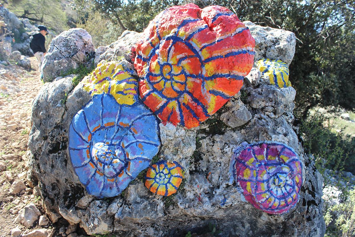land art en Granada