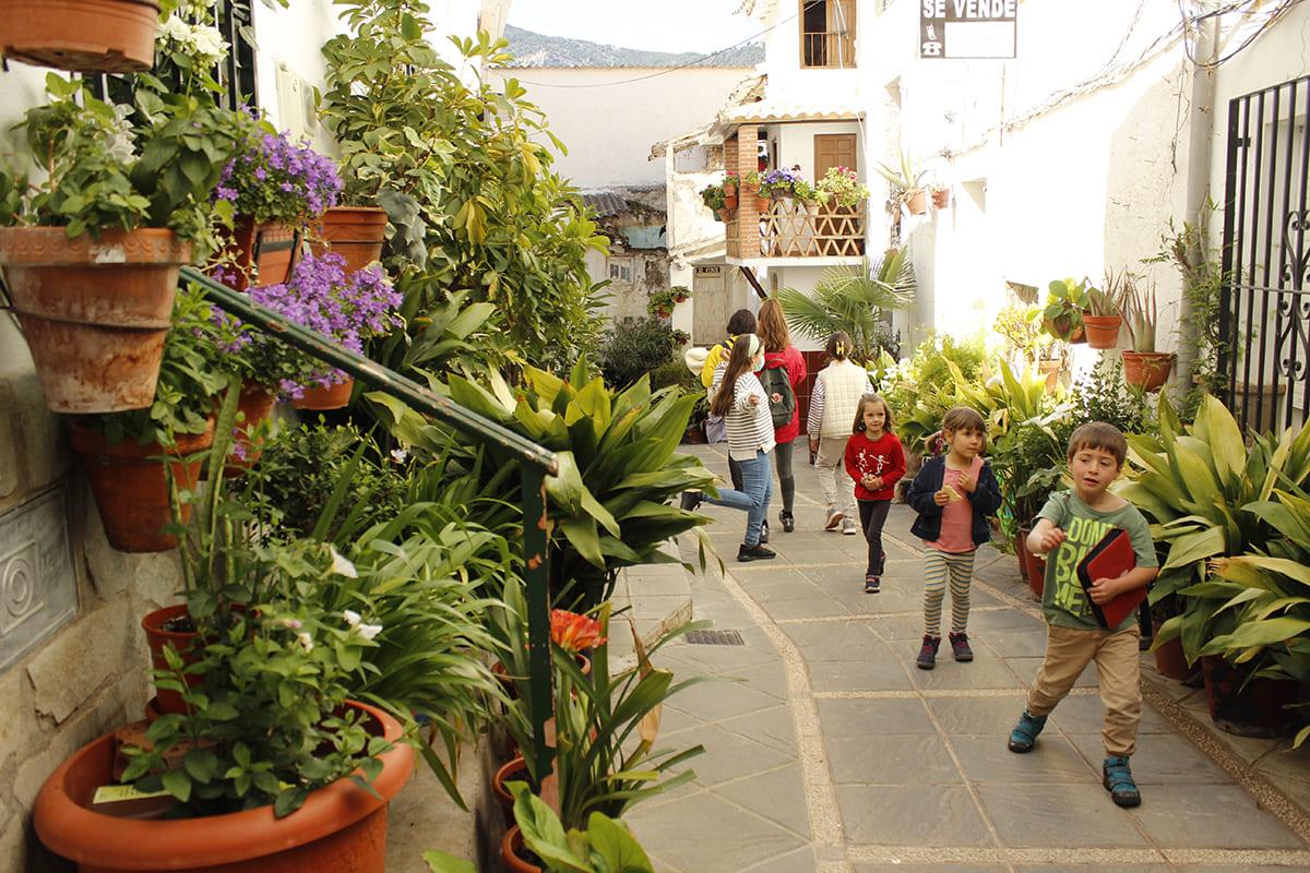calles pintorescas Güéjar Sierra