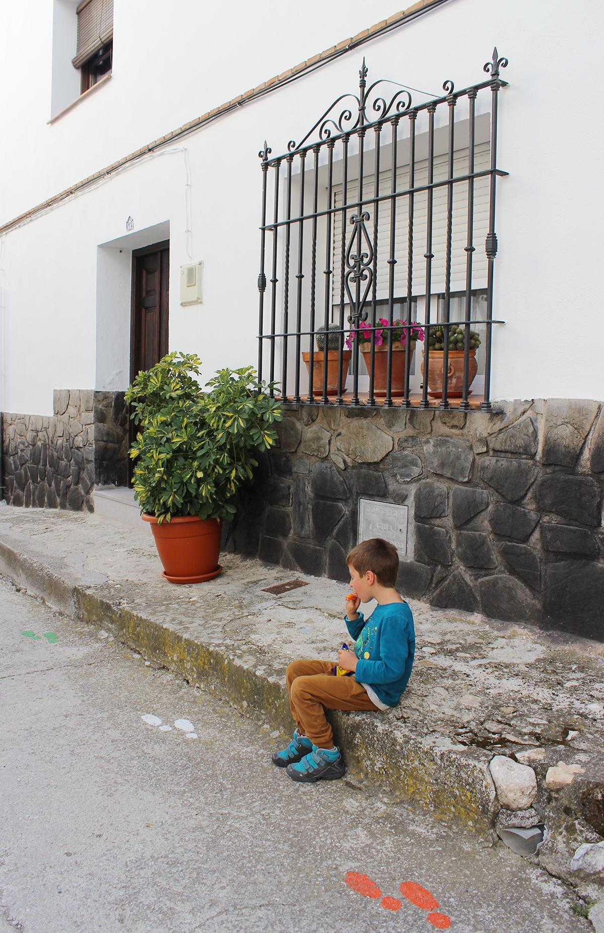 paseo Huétor Santillán Granada