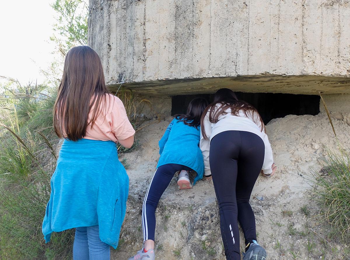 trincheras Beas Granada