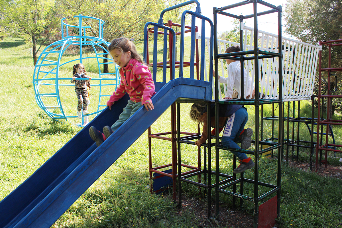 parque infantil El Ejido