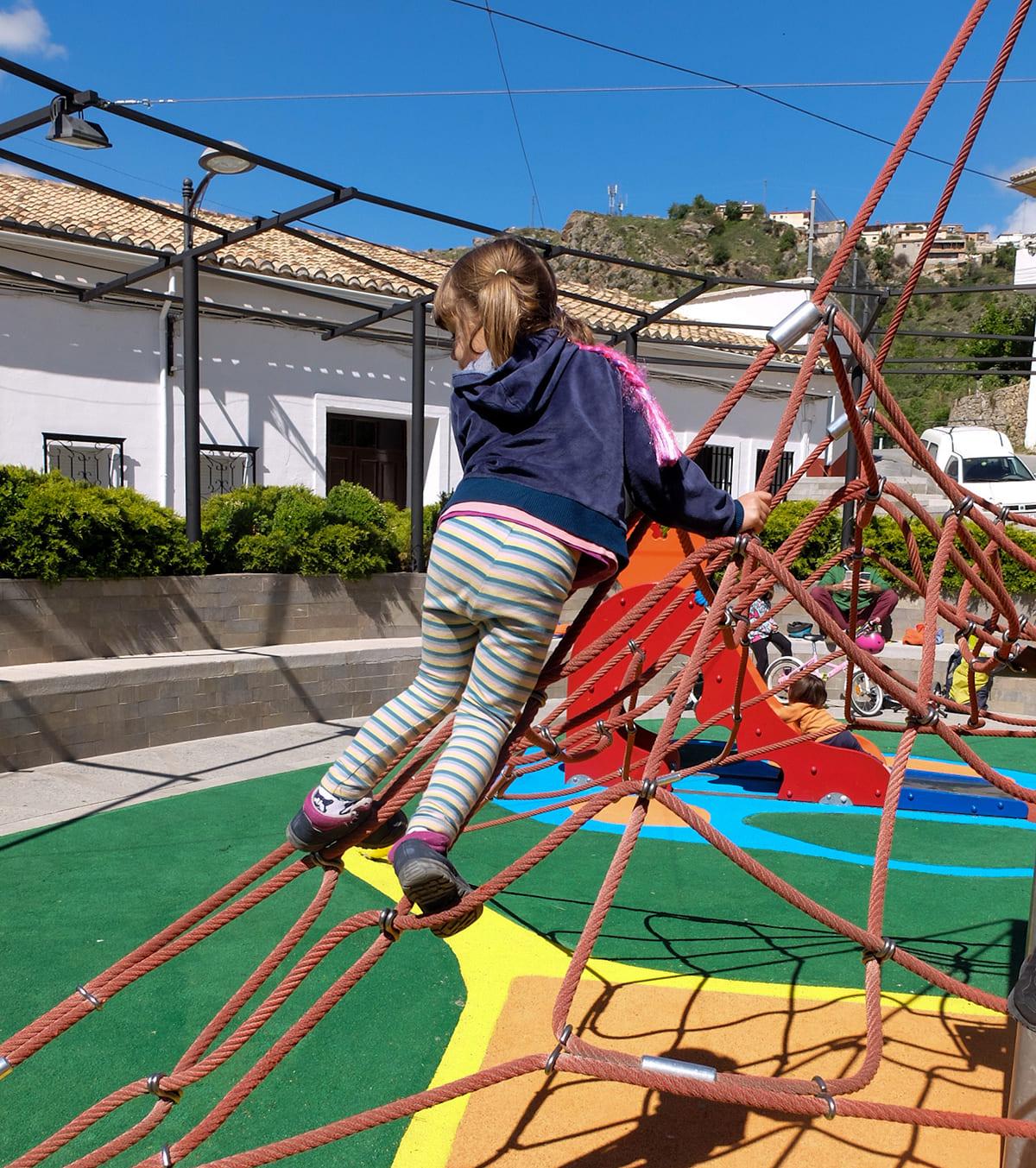 parque infantil Güéjar Sierra