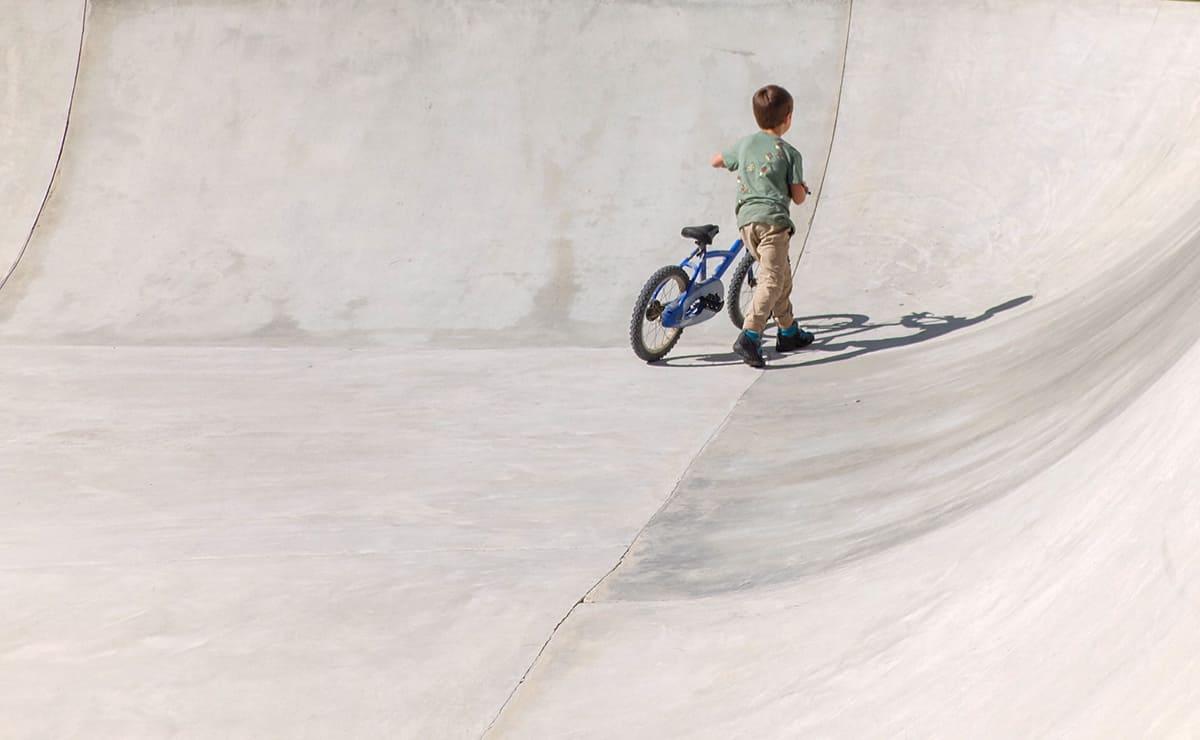 parque patinaje bicicletas Güéjar Sierra