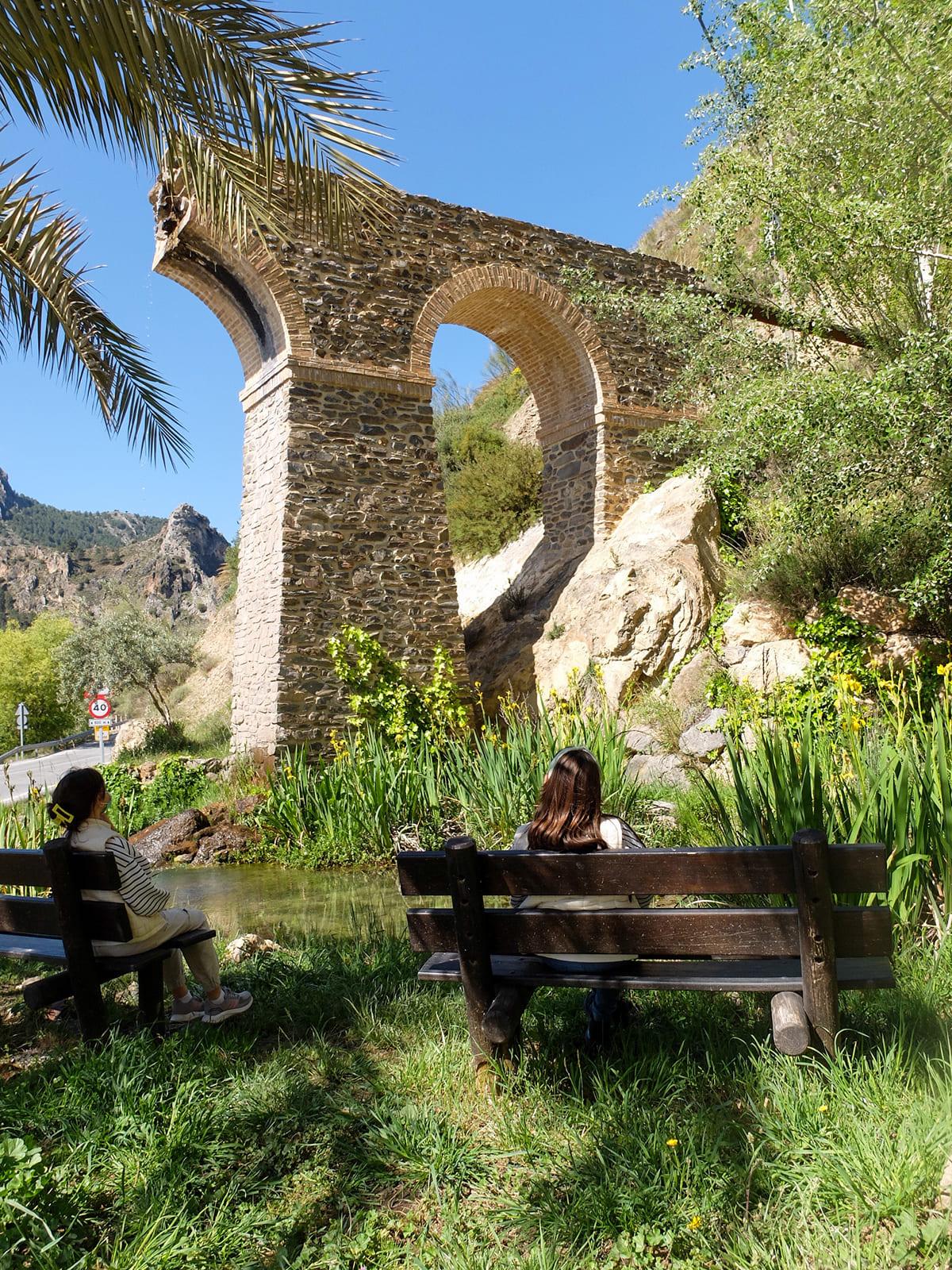 puente de las Veguetas Güéjar Sierra Granada