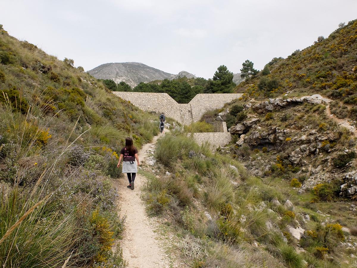 ruta diques Beas Granada