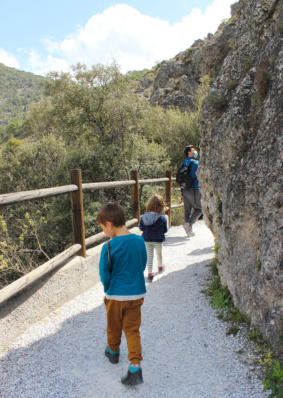 ruta senderismo accesible carritos bebe Granada