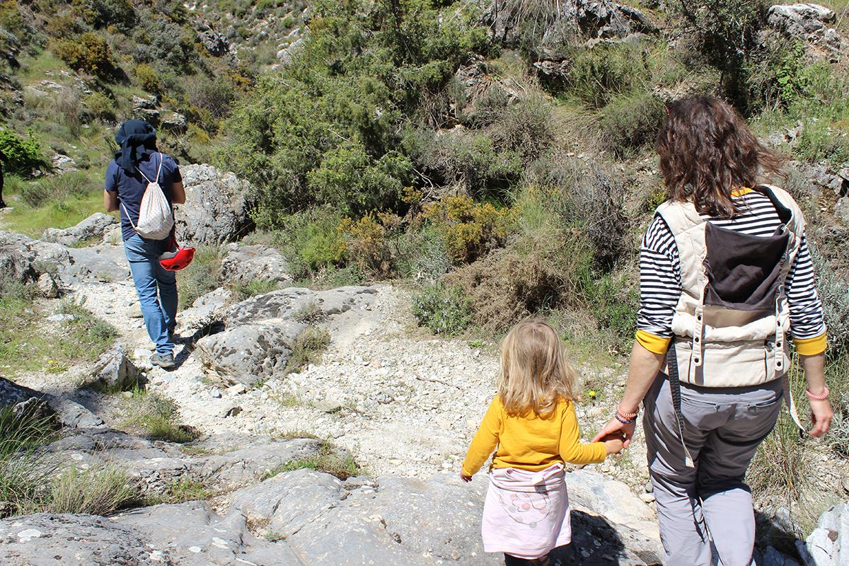 ruta senderismo diques Beas niños