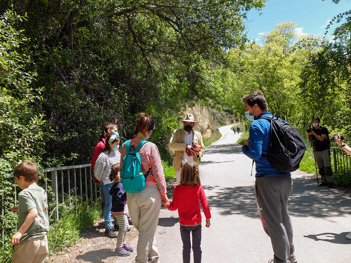 ruta senderismo accesible familias
