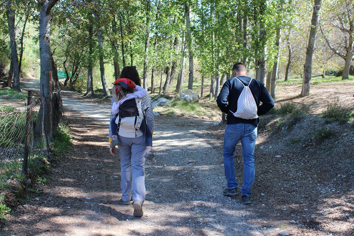 senderismo niños Granada