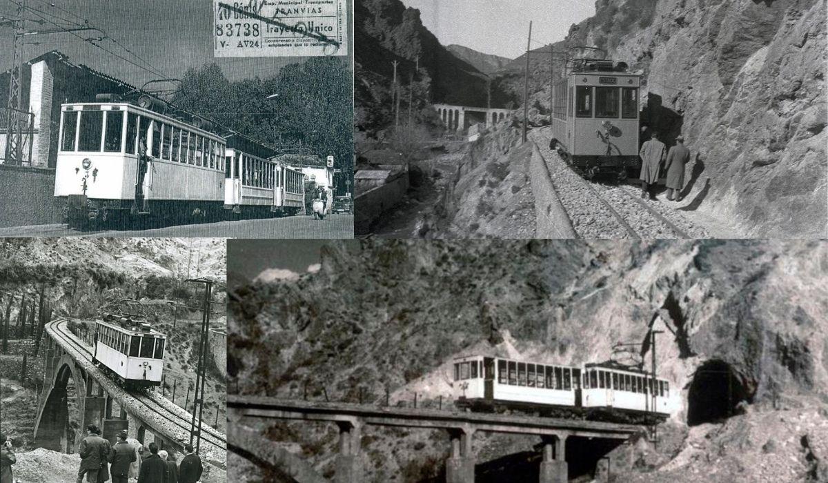 tranvía de la sierra Granada