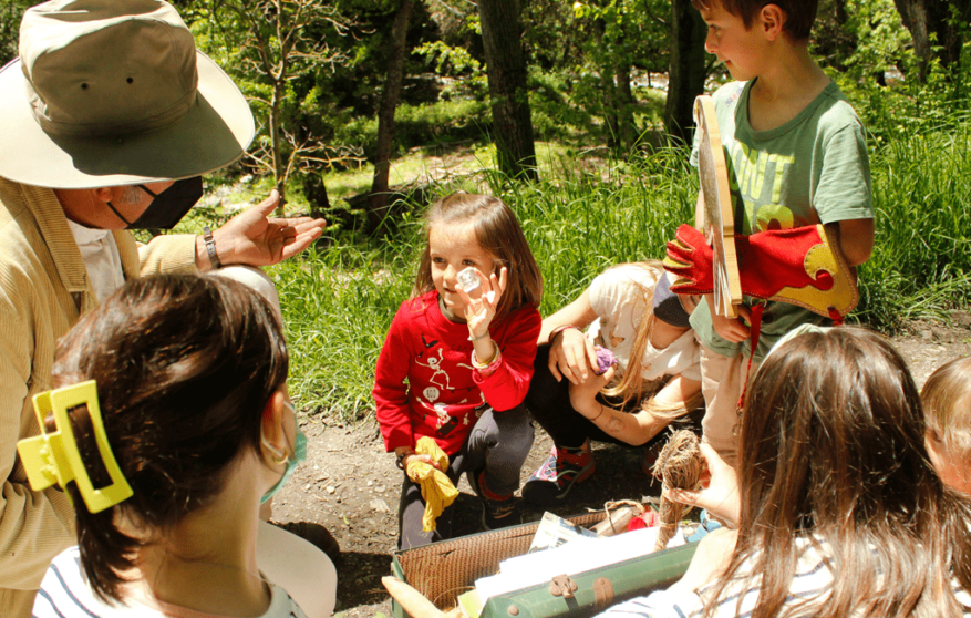 Güéjar Sierra en familia: la ruta del Tranvía y mucho más