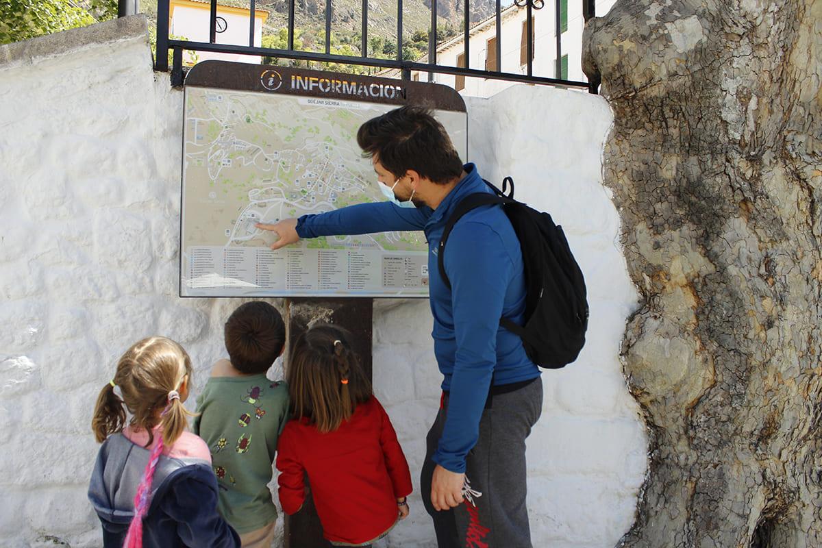 turismo para familias Güéjar Sierra Granada
