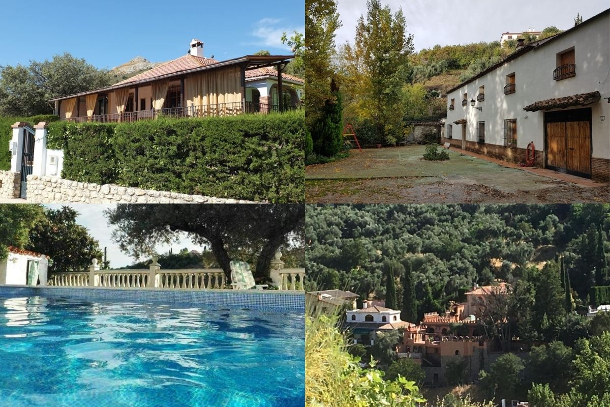 alojamientos turismo rural Huétor Santillán