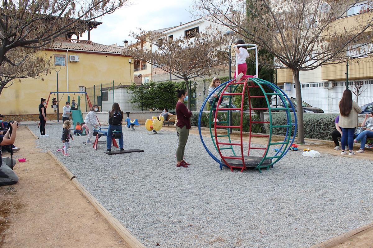 parque infantil Calicasas