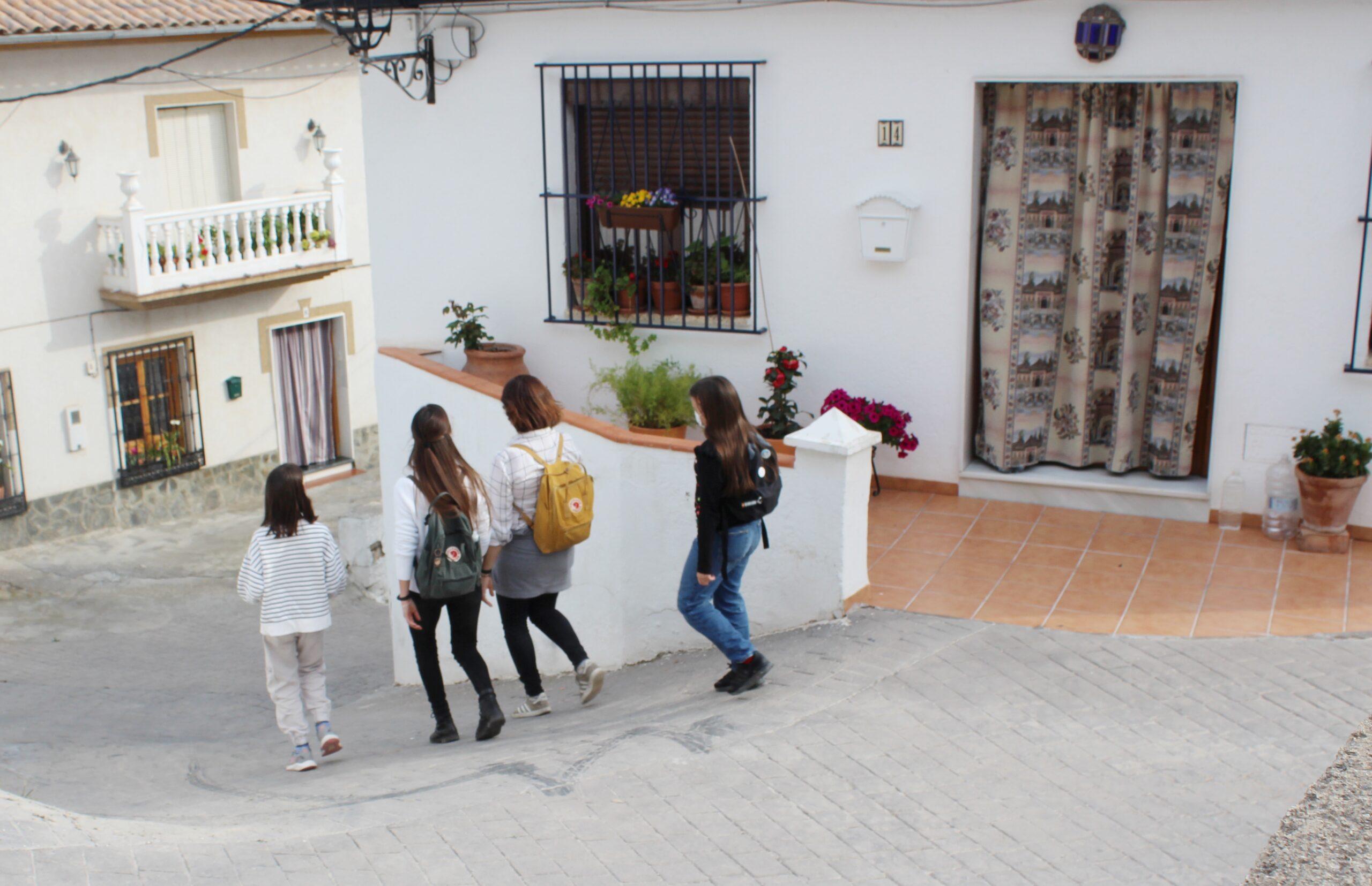 paseo casco urbano Calicasas