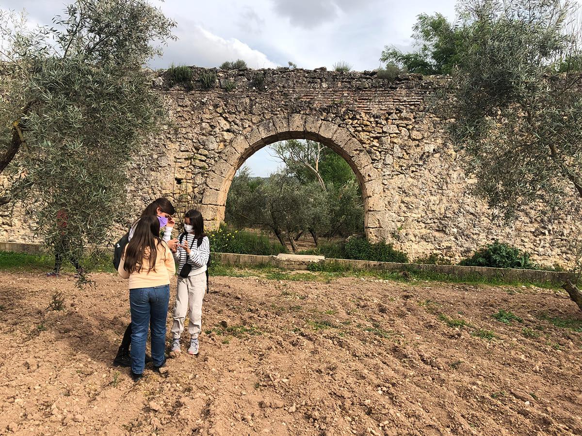 acueducto árabe Calicasas