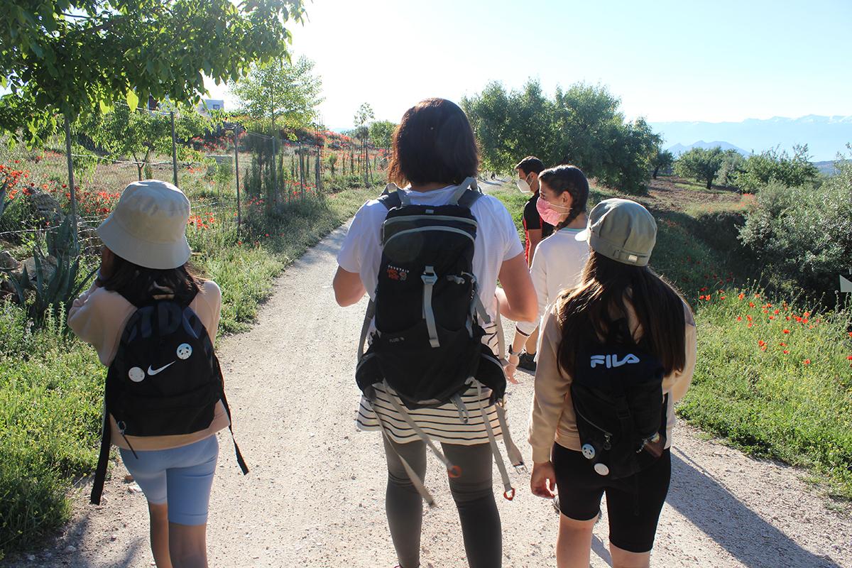 senderismo en familia íllora Granada