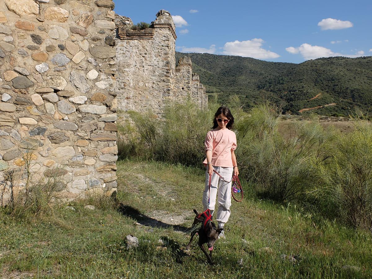 senderismo en familia Dúdar Granada