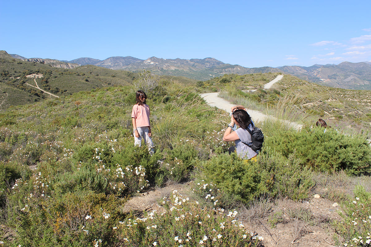 turismo familiar senderismo Granada