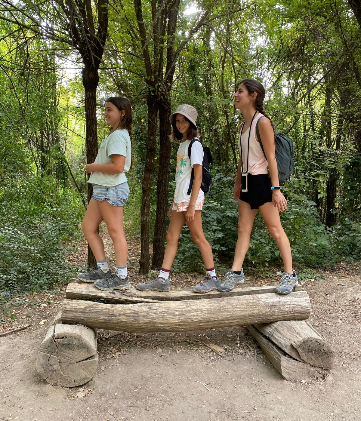 ruta en familia camino de Beas de Granada